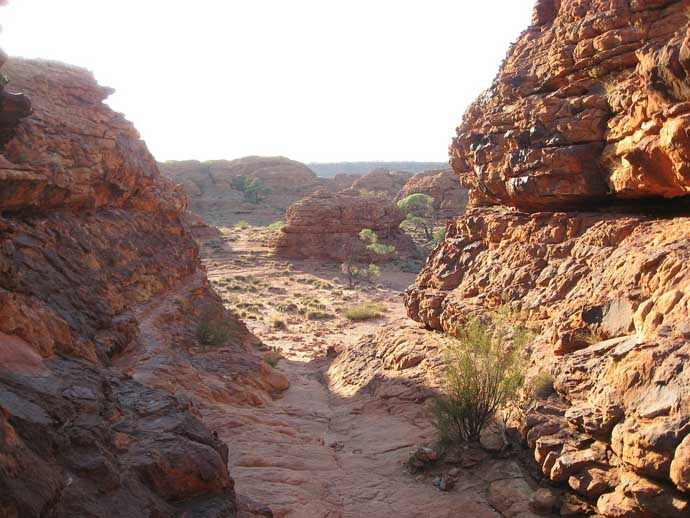 Kings Canyon au Centre Rouge australie